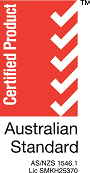 AS/NZS 1546 certification
